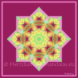 """29 - Mandala-Karte """"Du bist ein Teil der universellen Liebe"""""""