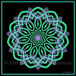 """37 - Mandala-Karte """"Vertrauen"""""""
