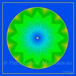 """18 - Mandala-Karte """"Die Stille in dir"""""""