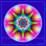 """26 - Mandala-Karte """"Klarheit"""""""