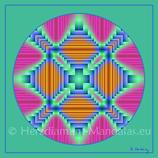 """15 - Mandala-Karte """"Was willst du Sein"""""""