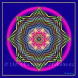 "33 - Mandala-Karte ""Sternenweisheit"""