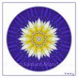 """21 - Mandala-Karte """"Ich erkenne in Liebe die Schönheit meiner Seele an"""""""