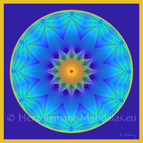 "30 - Mandala-Karte ""EwigesLeben"""