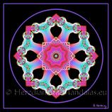 "32 - Mandala-Karte ""Sternenkommunikation"""