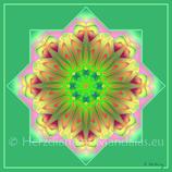 """25 - Mandala-Karte """"Ankunft der Christusenergie"""""""