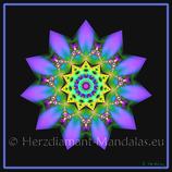 """38 - Mandala-Karte """"Die Macht ist in dir"""""""
