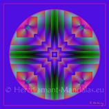 """03 - Mandala-Karte """"Du bist der Schöpfer"""""""