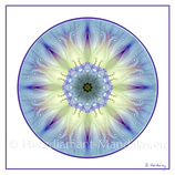 "10 - Mandala-Karte ""Finde dich selbst"""