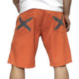 heavy.   iggy shorts ORANGE × GREY  (Sサイズ)