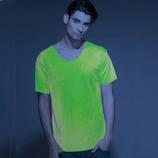 Maglietta fluorescente verde MOD N1018