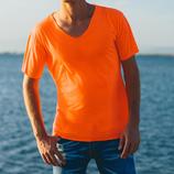 Maglietta fluorescente arancio MOD N1018