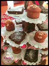 Muffins  PALEO 4 PIEZAS