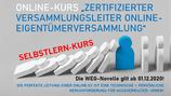 SELBSTLERN-Kurs Leiter Online-Eigentümerversammlung