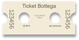 Ticket Bottega