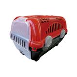 Caja Transporte Lujo Furacao Pet N.2/Rojo Mediano