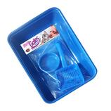 Kit Gato Tres Piezas Furacao Pet (Azul)