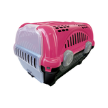 Caja de Transporte Furacao Pet N.1/Rosa Pequeño