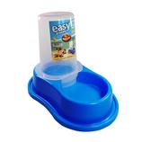 Bebedero Plastico Anti-Hormiga Automatico  (Azul)