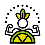 Körperenergie: Limette