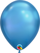 "Latexballon ""Chrome blue"""