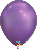 "Latexballon ""Chrome Purple"""