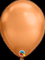 """Latexballon """"Chrome Copper"""""""