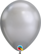 "Latexballon ""Chrome silver"""
