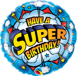 "Folienballon Geburtstag ""Have a super Birthday"""