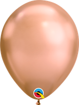 "Latexballon ""Chrome Rose Gold"""