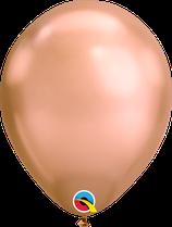 "Latexballon ""Chrome Rose Gold"""