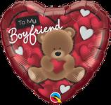 """Folienherz """"To my Boyfriend/Girlfriend"""" / 45 cm"""
