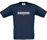 KKJ Feiermaus T-Shirt Kinder Navy