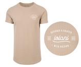 Long cut structure T-shirt