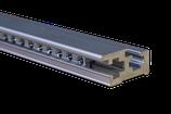 Eurorack Rails - Type A - Low Profile - silver