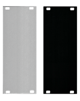 Blank Panels - silver/black