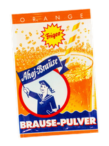 Brausepulver - Orange