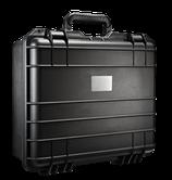 Staub- und Wasserdichter Koffer aus lösemittelbeständigem Polypropylen