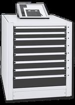 Schubladenregalsystem Junior 8 Steuerungssystem