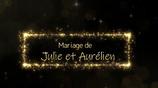 Montage vidéo mariage ref LM2 (paillettes or)