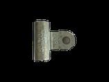 Verbindungsstück mit Lasche M8X1 innen