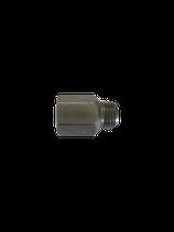 Verlängerung M8x1k - M10x1 Ø 6 ; L=21mm