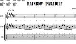 Noten - Rainbow Paradise - PDF