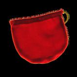 Samtsäckchen rot (die perfekte Verpackungsidee zum Siegfriedthaler)
