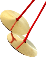 ufip finger cymbals messing