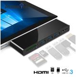 Surface Pro 5 / 6 / 7 Dockingstation / Adapter