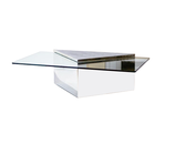 Cantilevered Coffee Table by J. Wade Beam for Brueton