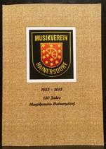 130 Jahre Musikverein Hainersdorf Chronik