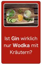Gin und Gin&Tonic Tasting
