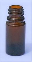 Flasche braunglas ohne Verschluss